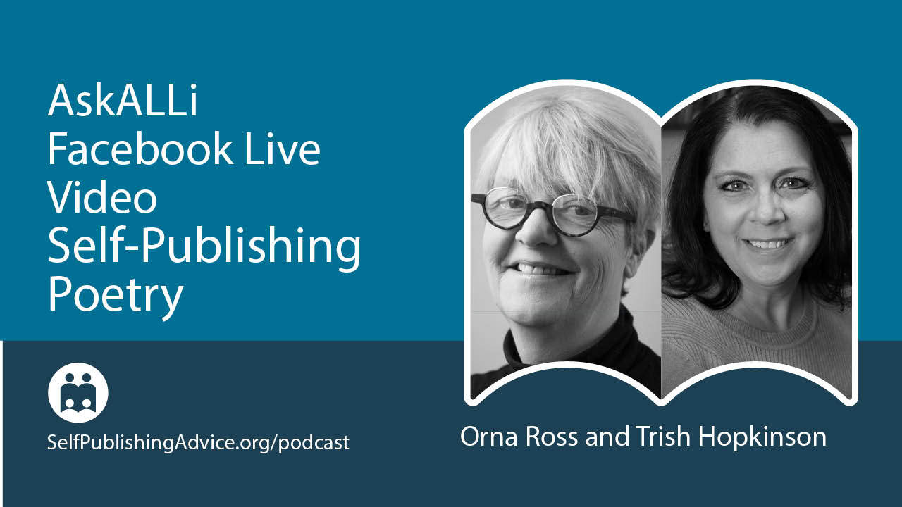 LIVE: The Art And Craft Of Self-Publishing Poetry Books