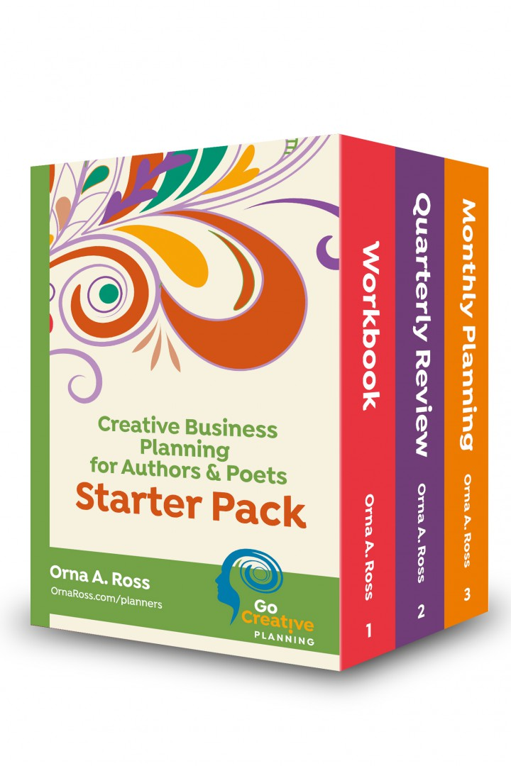 Creative Business Planning Starter Pack: Workbook + Quarterly And Monthly Planners