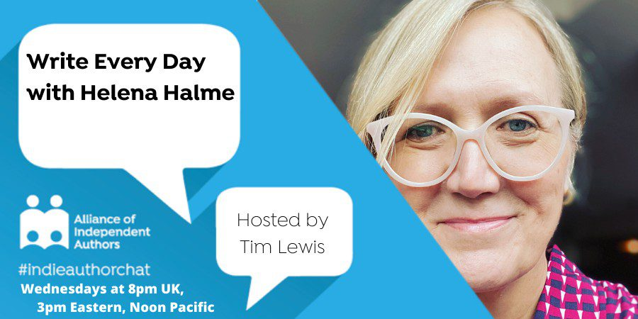 TwitterChat: Write Every Day With Helena Halme