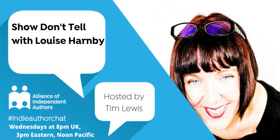 TwitterChat: Show Don't Tell With Louise Harnby