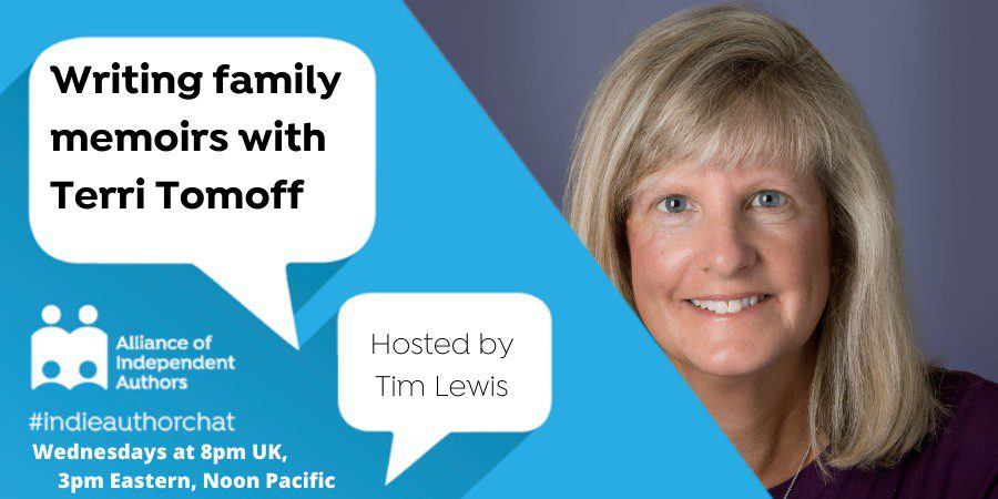 TwitterChat: Writing Family Memoirs With Terri Tomoff