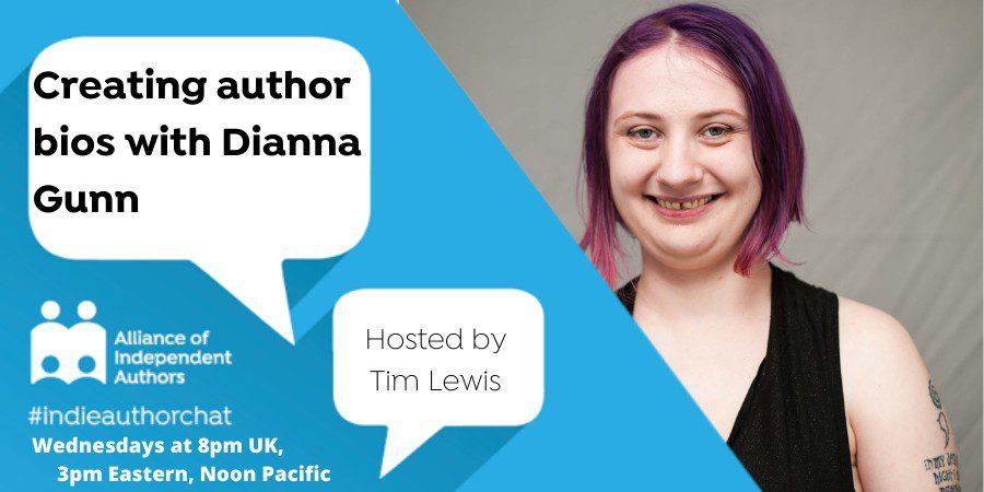 Creating Author Bios With Dianna Gunn