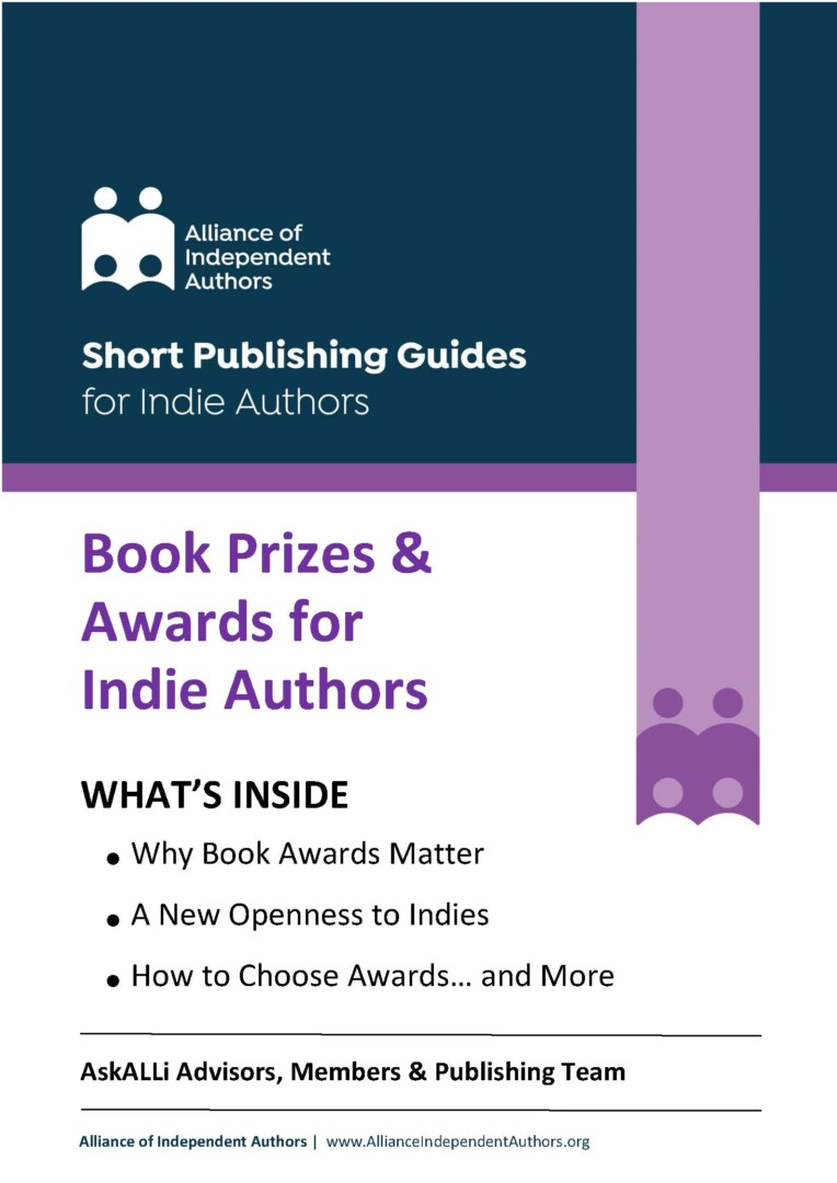 Book Prizes & Awards For Indie Authors