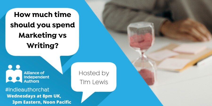 How Much Time Should You Spend Marketing Vs Writing?