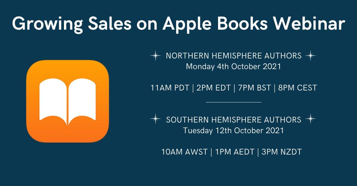 LIVE: Growing Sales On Apple Books Webinar