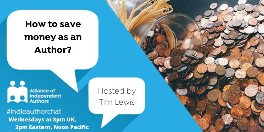 TwitterChat: How To Save Money As An Author?