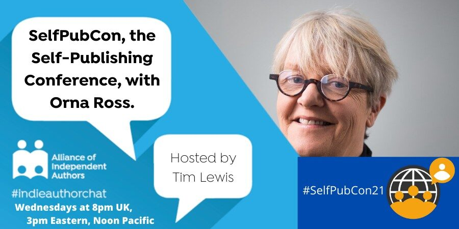 TwitterChat: SelfPubCon, The Self-Publishing Conference, With Orna Ross