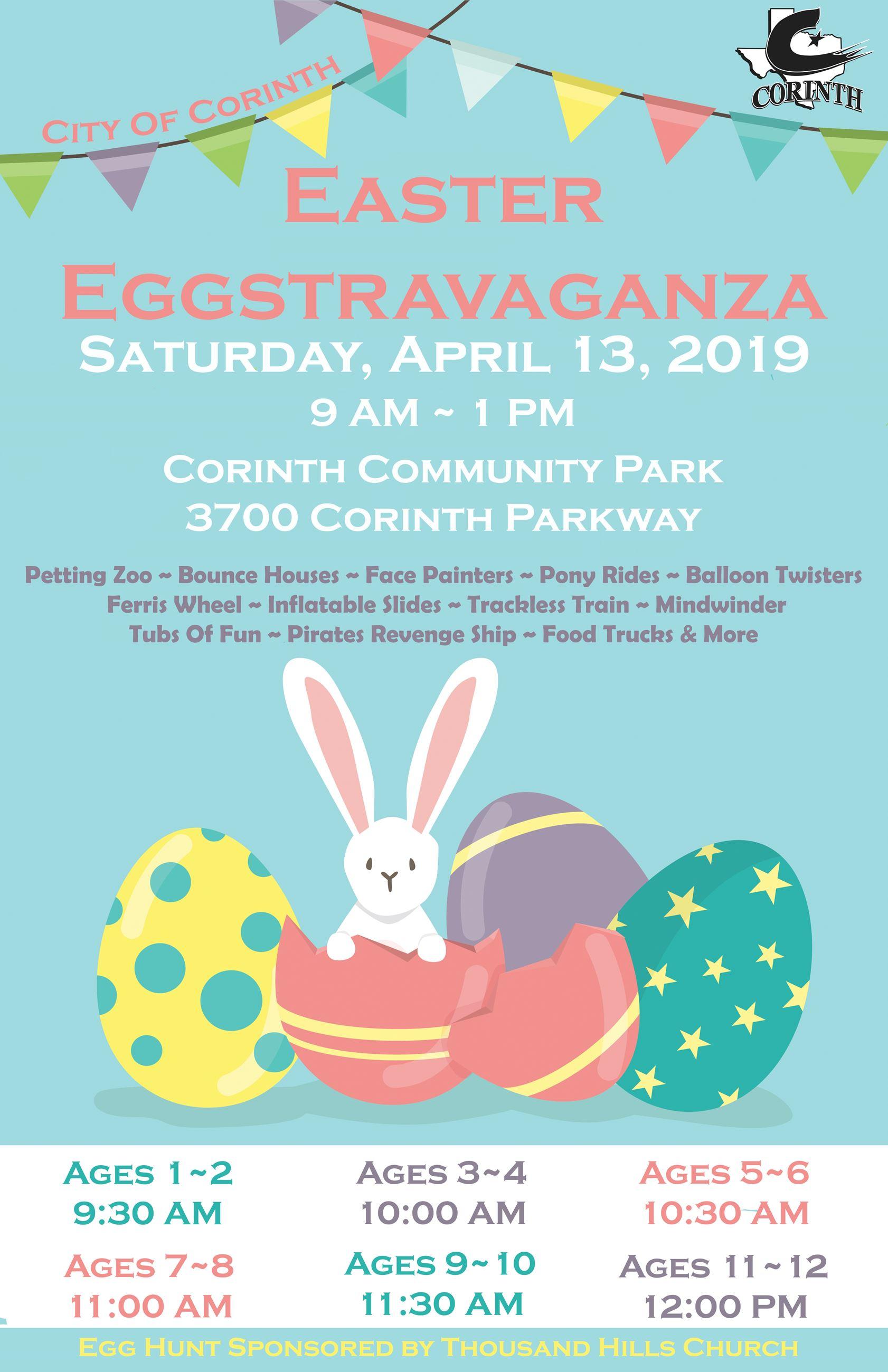 Corinth Easter Egg-Stravaganza
