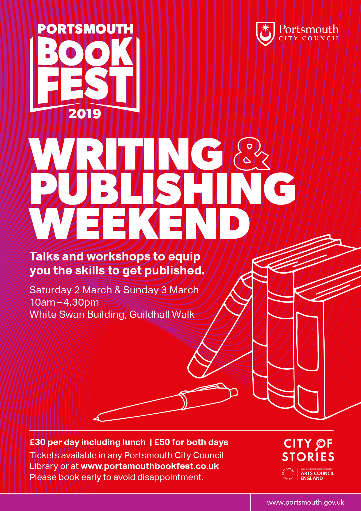 Portsmouth BookFest Publishing Weekend